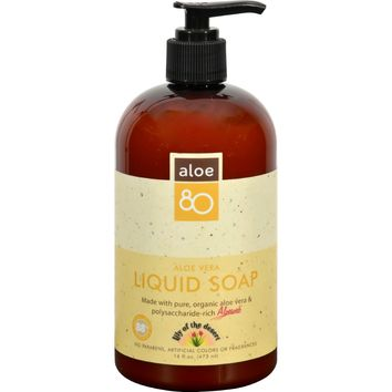 Lily Of The Desert Liquid Soap - Hydrating - Case Of 1 - 16 Fl Oz.