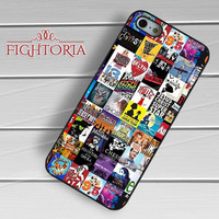 Broadway Musical Collage Case -5TL for iPhone 6S case, iPhone 5s case, iPhone 6 case, iPhone 4S, Samsung S6 Edge