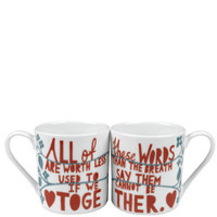 Rob Ryan His 'n' Her Together Mugs