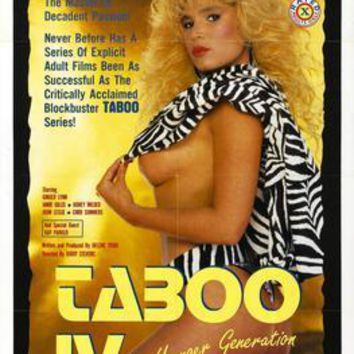 Taboo Pt 4 movie poster Sign 8in x 12in