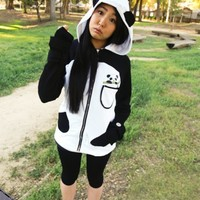 Sweet Cuddly Panda Sweatshirt (GIRLS) [PAN01] - $59.99 : Visual You, Fashion Incorporated