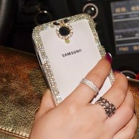Extreme Deluxe Bling Diamante Clear Crystal Case for Samsung Galaxy Note 3 III N9000 Phone