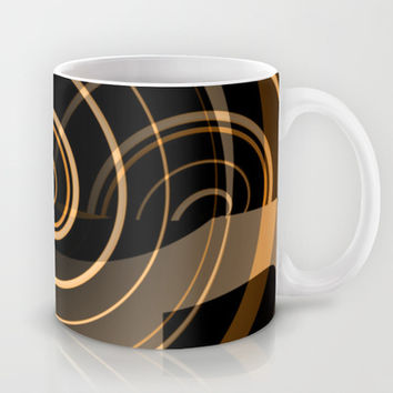 Caramel & Licorice Fudge - Pattern Mug by Moonshine Paradise