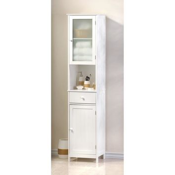 Country Lake Tall Storage Cabinet