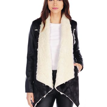 RD Style Shearling Coat