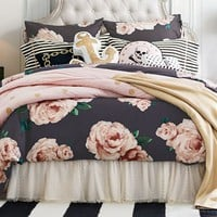 The Emily + Meritt Bed Of Roses Duvet Cover + Sham