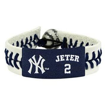 MLB Derek Jeter Authentic Jersey Bracelet