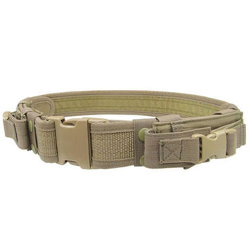 Tactical Belt Color- Tan