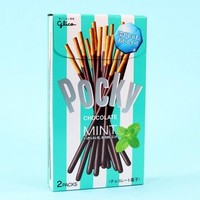 Pocky Biscuit Sticks (mint chocolate)