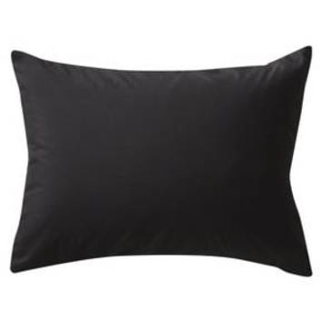 Solid Pillow Sham (Standard) Black&Gray - Room Essentials™ : Target