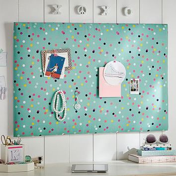 Confetti Dot Pin-It Pinboard