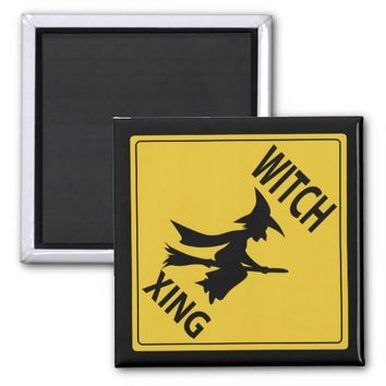 Witch Xing 2 Inch Square Magnet