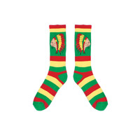 NATIVE CAT SOCK GREEN – Odd Future