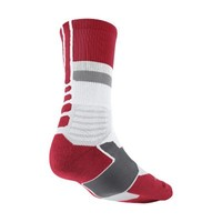Nike Hyperelite Fanatical Crew Basketball Socks - White