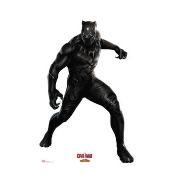 Captain America Civil War Black Panther Cardboard Standup