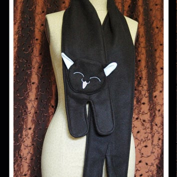 Black Cat Scarf