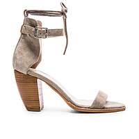 Tally II Heel in Taupe Suede