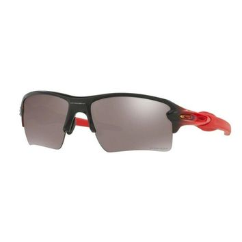 Oakley Glasses Flak 2.0 XL Ruby Fade/Prizm Black Polarized
