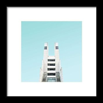 Urban Architecture  The Brunswick Centre, London, United Kingdom - Framed Print