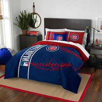 Chicago Cubs MLB Full Comforter Set (Soft & Cozy) (76 x 86)