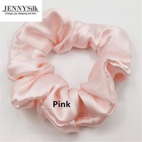 Silk scrunchies 100% mulberry silk silk hair Scrunchies for Christmas gifts/gifts for her/wedding handgifts/Valentine gifts