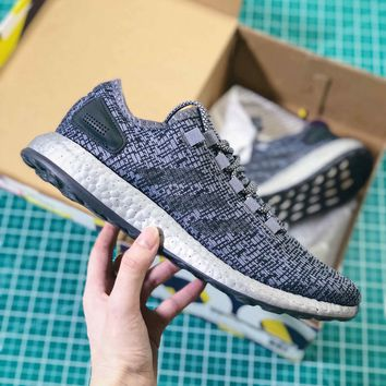 Adidas Pure Boost All Terrain Grey Shoes - Best Online Sale