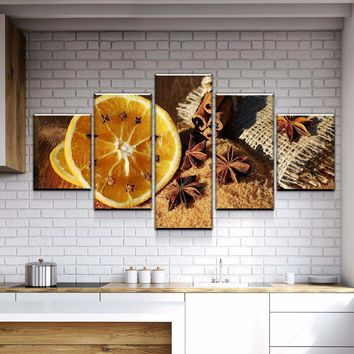 *Clearance* Rustic Kitchen and Dining Room Wall Decor Canvas Set