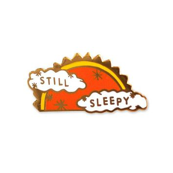 Still Sleepy Pin