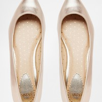Oasis Metallic Pointed Flat Shoes