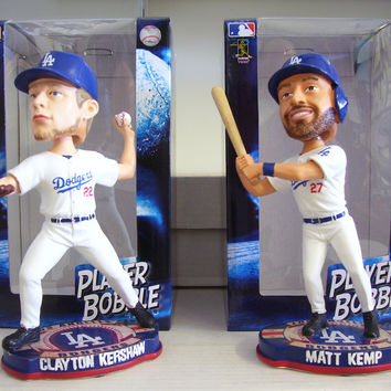 Clayton Kershaw Matt Kemp Bobblehead Set