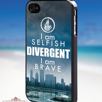 Divergent quotes - iPhone 4/4s/5/5s/5c Case - Samsung Galaxy S3/S4 - Blackberry z10 Case - Black or White