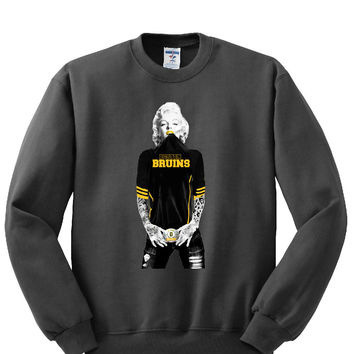 Marilyn Monroe Bruins Sweatshirt Sports Clothing