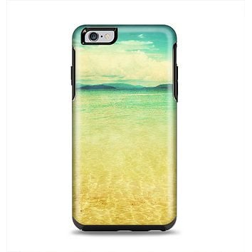 The Vintage Vibrant Beach Scene Apple iPhone 6 Plus Otterbox Symmetry Case Skin Set
