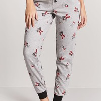 Reindeer Dog Print PJ Pants