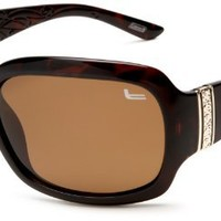 Amazon.com: Coleman Women's CC1 6024 Polarized Sunglasses,Brown Frame/Brown Lens,one size: Clothing