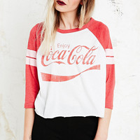 Coca Cola Baseball Tee in Red - Urban Outfitters