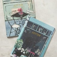 Cafe Jotter Journals by Charlotte Hardy Light Red Set Of 2 Gifts