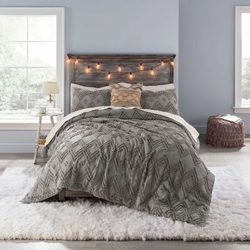 Anthology™ Chevron Tufted Comforter Set