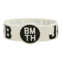 Bring Me The Horizon Join The Club Rubber Bracelet