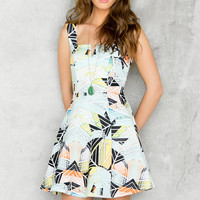 Oahu Printed Dress