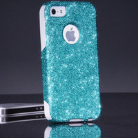 Otterbox iPhone 5/5S Case Glitter Commuter Paradise Sparkly Bling Custom Otterbox Cute iPhone 5/5S Case