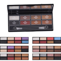 2016 New New Arrival Long-lasting Easy To Wear 8 Colors Shimmer Eyeshadow Makeup Palette By Nanda Lasting Waterproof Multicolor