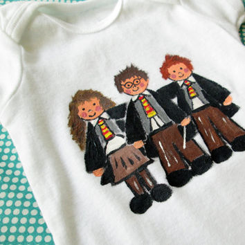 Harry Potter Shirt - Harry Potter Bodysuit - Baby Outfit - Hermione - Ron Weasley - Your Choice of Size