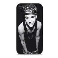 justin bieber with hat actress Iphone 4s Cases