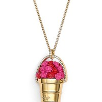 kate spade new york 'rosy outlook' pendant necklace | Nordstrom