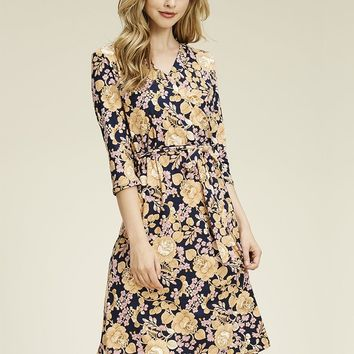 Anassia  Wrap Dress