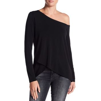 One Shoulder Asymmetric Top