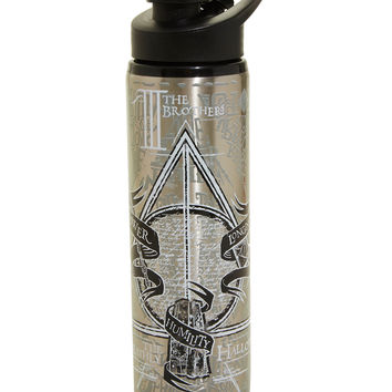 Harry Potter Deathly Hallows Stainless Steel Water Bottle