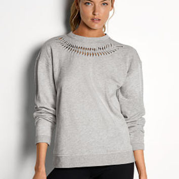 Twisted Pleat Pullover - Victoria Sport - Victoria's Secret
