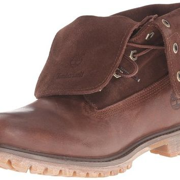 Timberland Women's Authentics Suede Roll-Top Boot